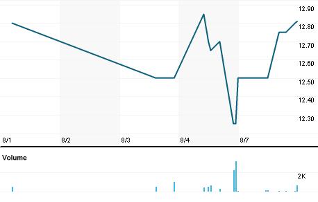 Chart for BURCA.PK